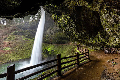 Photograph - Silver Falls by Clifford Toy