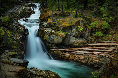 Design Turnpike Books - Silver Falls Mt. Rainier 1 by Mike Penney