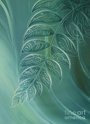 Painting - Silver Fern By Reina Cottier by Reina Cottier