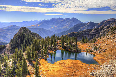 Photograph - Silver Glance Lake by Spencer Baugh