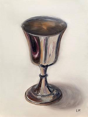 Silver Goblet Art Print