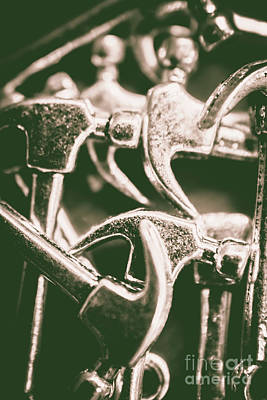 Accessories Wall Art - Photograph - Silver Hammers by Jorgo Photography - Wall Art Gallery