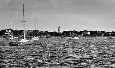 Photograph - Silver Lake And Ocracoke Light by Brendan Reals