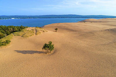 Photograph - Silver Lake Dunes by Sebastian Musial
