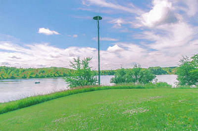 Photograph - Silver Lake From Jorgens Park Preserve by Trey Foerster