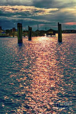 Photograph - Silver Lake Harbor Ocracoke Island Outer Banks by Dan Carmichael