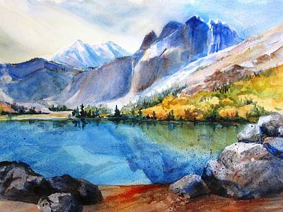 Painting - Silver Lake by Lynn Marit Peterson