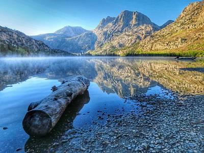 California Photograph - Silver Lake Mist by Ross Kestin