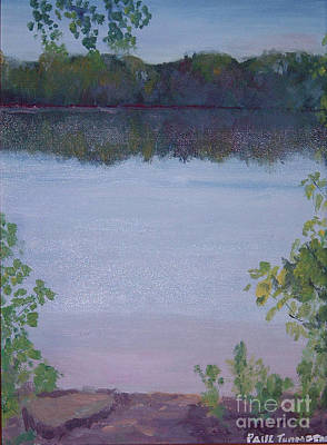 Painting - Silver Lake by Paul Thompson