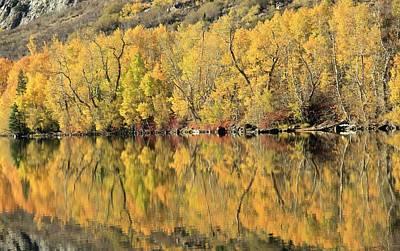 Photograph - Silver Lake Peak Autumn by Sean Sarsfield