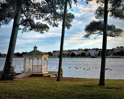 Photograph - Silver Lake Serenity In Rehoboth Beach by Bill Swartwout