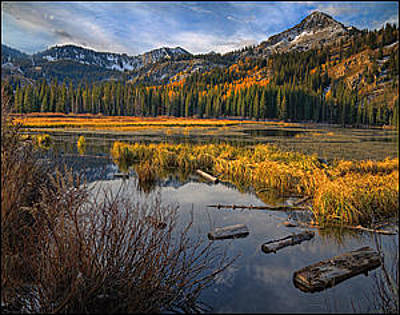 Photograph - Silver Lake by Utah Images