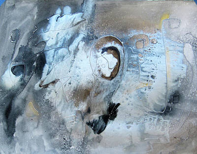 Painting - Silver Light by Marilyn Woods