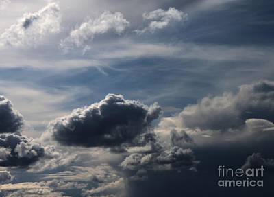 Art Print featuring the photograph Silver Lining by Erica Hanel