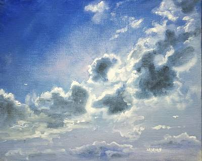 Painting - Silver Lining by Melissa Herrin