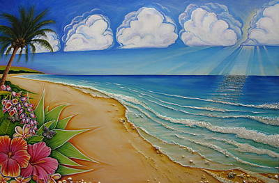 Painting - Silver Linings  by Claire Johnson