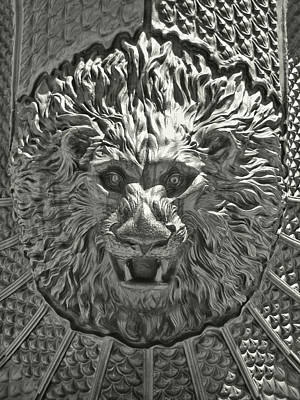 Photograph - Silver Lion by JAMART Photography