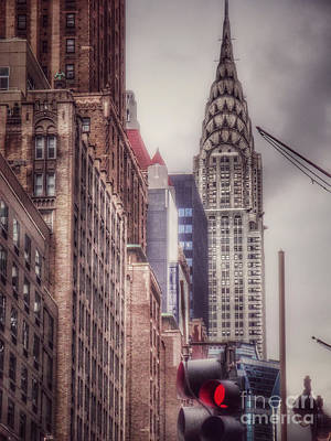 Photograph - Silver Majesty - Chrysler Building New York by Miriam Danar