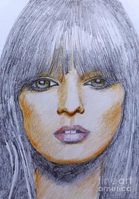 Silver Mop Art Print by Stephen Brooks
