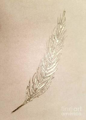 Painting - Silver Phoenix by Margaret Welsh Willowsilk