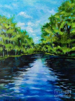 Painting - Silver River by Alison Caltrider
