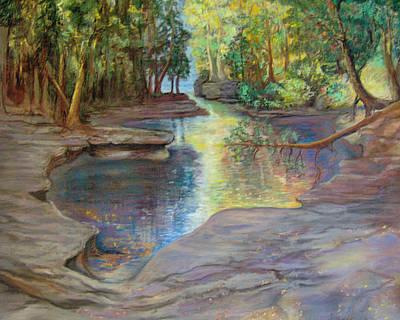 Silver River Hideaway Art Print