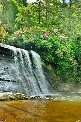 Photograph - Silver Run Falls Cashiers Nc Vertical by Lisa Wooten
