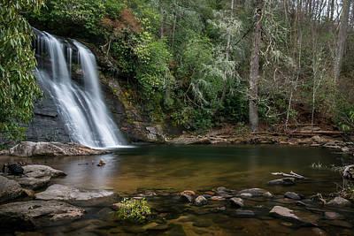 Photograph - Silver Run Falls by Chris Berrier
