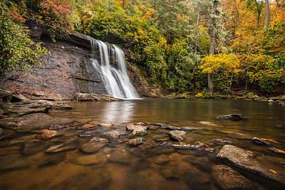 Silver Run Falls Nantahala National Forest North Carolina Art Print