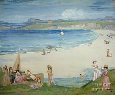 Silver Sands Print by Charles Edward Conder