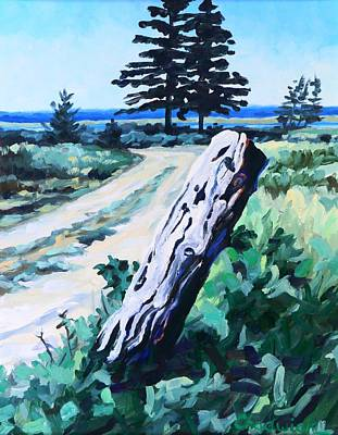 Other Painting - Silver Sands Nova Scotia by Phil Chadwick