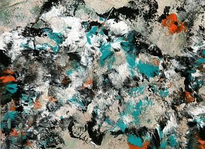 Silver Skies Art Print by Teodoro De La Santa
