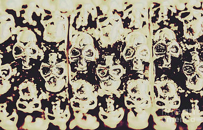 Goth Photograph - Silver Skull Art by Jorgo Photography - Wall Art Gallery