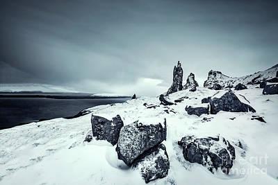 Photograph - Silver Skye by Evelina Kremsdorf