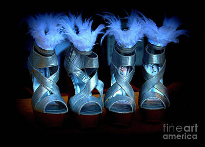 Photograph - Silver Slippers by Bob Brents
