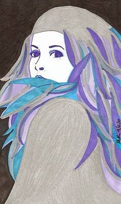 Stevie Nicks Drawing - Silver Springs by Michelle Kinzler
