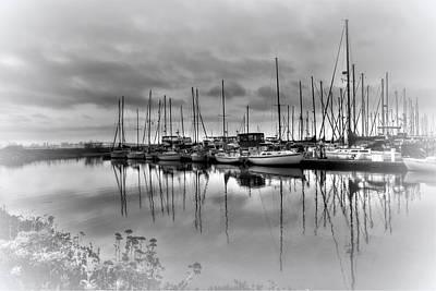 Marian Photograph - Silver Strand Marina by Frank Garciarubio
