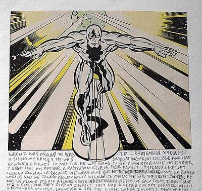 Silver Surfer Original by William Douglas