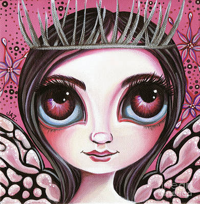Pop Surrealism Painting - Silver Thorn by Jaz Higgins