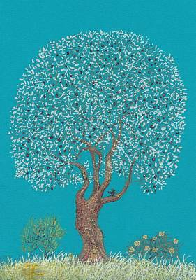 Painting - Silver Tree by Charles Cater