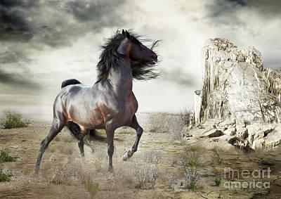 Morgan Horse Digital Art - Silverado by Shanina Conway