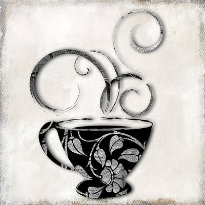 Java Painting - Silvercup by Mindy Sommers