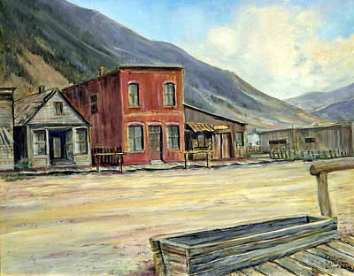 Painting - Silverton Colorado by Evelyne Boynton Grierson