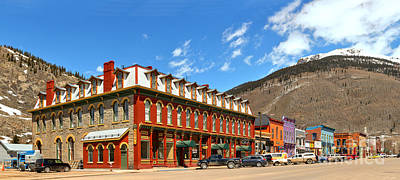 Photograph - Silverton Grand Imperial Hotel by Adam Jewell