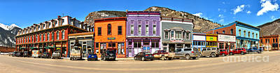Photograph - Silverton Greene Street Panorama by Adam Jewell
