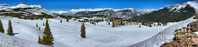 Photograph - Silverton Molas Pass Panorama by Adam Jewell
