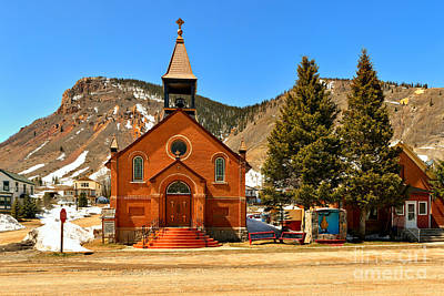 Photograph - Silverton St. Patrick Catholic Church by Adam Jewell