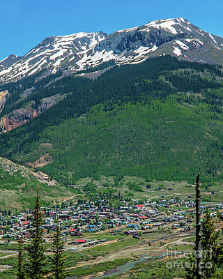 Photograph - Silverton by Stephen Whalen
