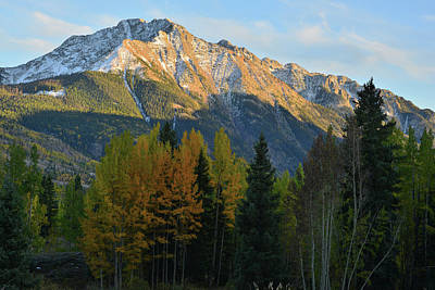 Photograph - Silverton To Durango Highway At Sunset by Ray Mathis