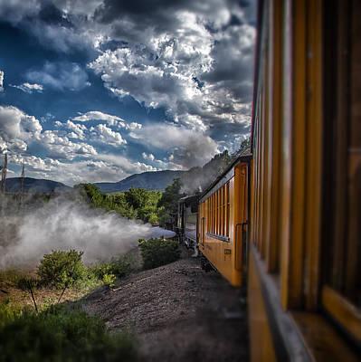 Silverton Train Art Print